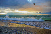 Kite Surfing in Lake Huron  SS27