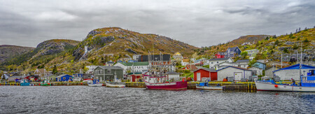 Petty Harbour Panorama