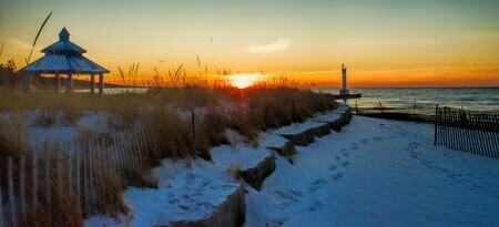 Winter in Grand Bend