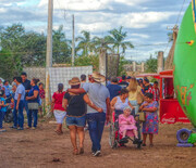 Folks at the Fair, Mexico