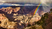 Rainbow at the Grand Canyon